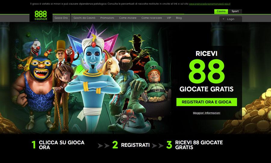 888 casino aams homepage
