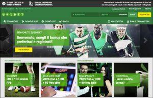 unibet casino AAMS homepage