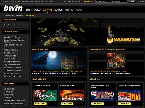 lobby casino bwin