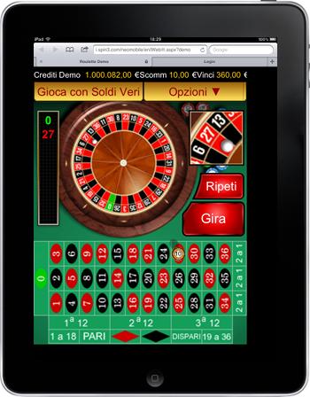 casino ipad roulette