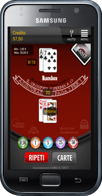 Blackjack per Android