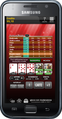 Video poker per Android