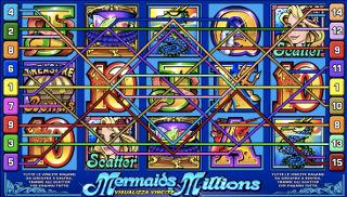 slot aams mermaids millions paylines