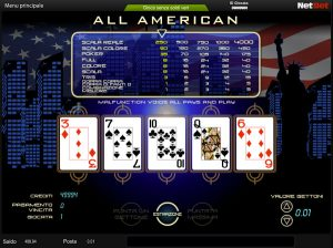 video poker AAMS