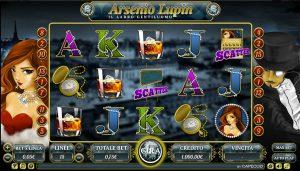 mr green arsenio lupin slot machine