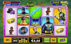 batman slot machine AAMS
