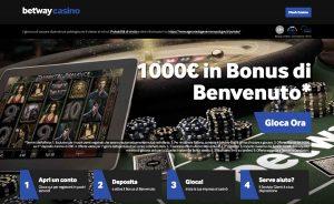 betway casino AAMS