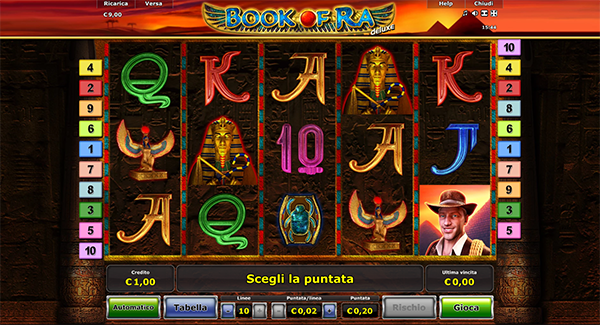 book of ra slot machine aams