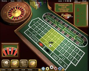 European roulette AAMS