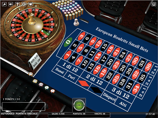 roulette AAMS