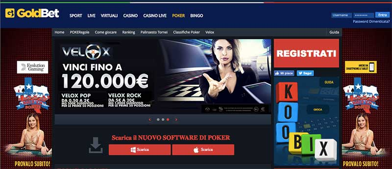 goldbet poker