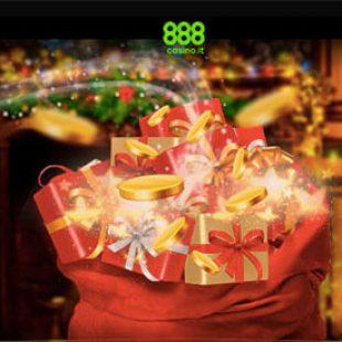 A Natale gioca gratis con 888!