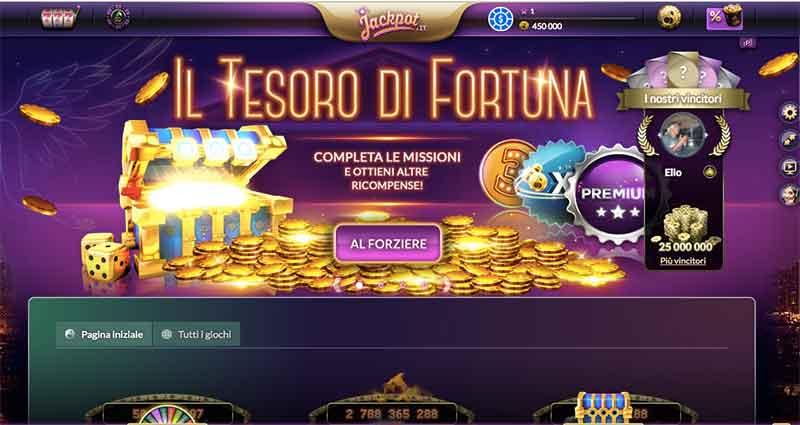 jackpot.it homepage