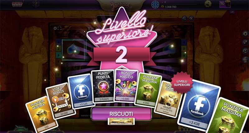 jackpot.it livelli