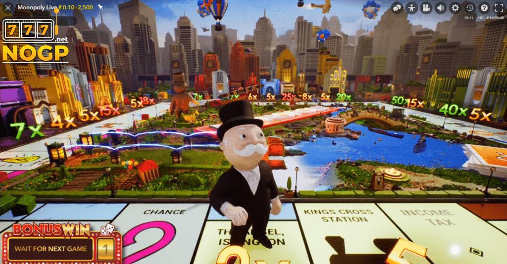 mr monopoly bonus game