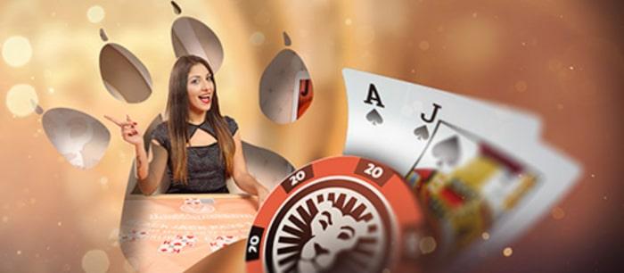 blackjack plus leovegas