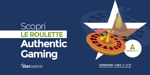 authentic gaming per starcasinò