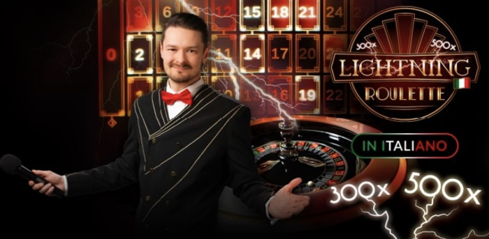 lightning roulette di 888casino in italiano