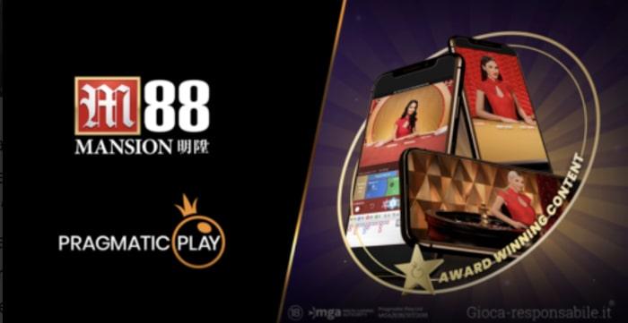 casino live di pragmatic play su M88